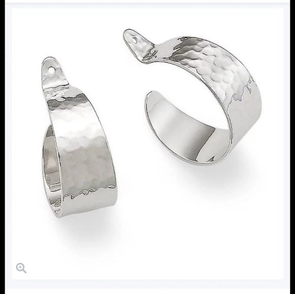 James Avery Jewelry Hammered Collared Hoop Earrings Poshmark